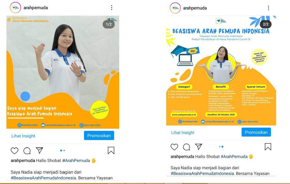 Beasiswa Arah Pemuda Indonesia