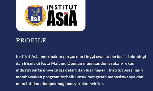 Beasiswa Institut Asia
