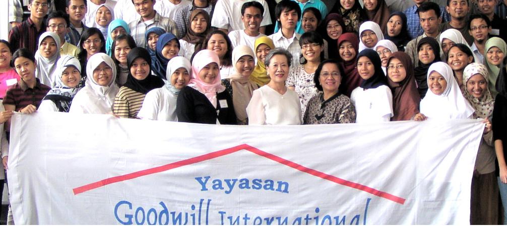 Beasiswa Yayasan Goodwill International