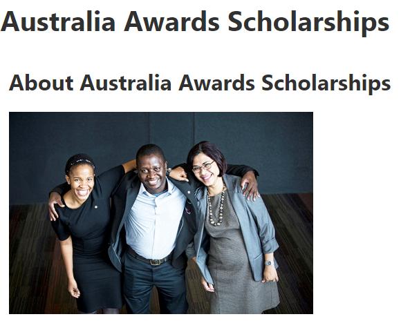 Beasiswa Australian Awards Scholarships