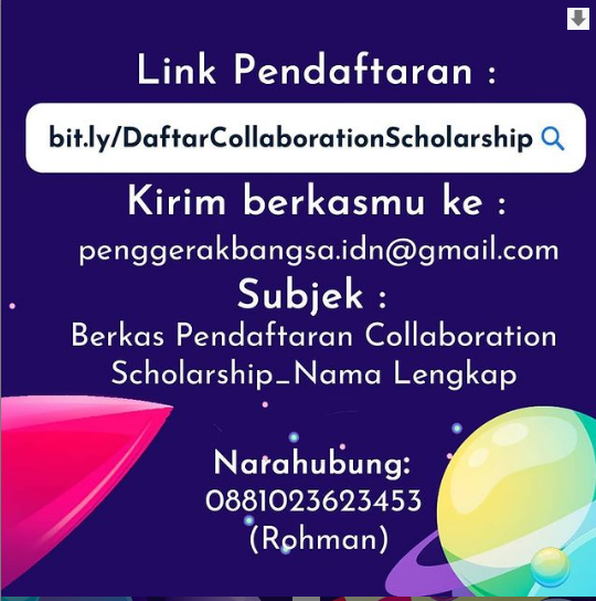 Beasiswa Collaboration Scholarship