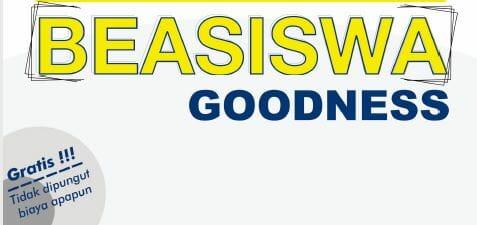 Beasiswa Goodness 2021