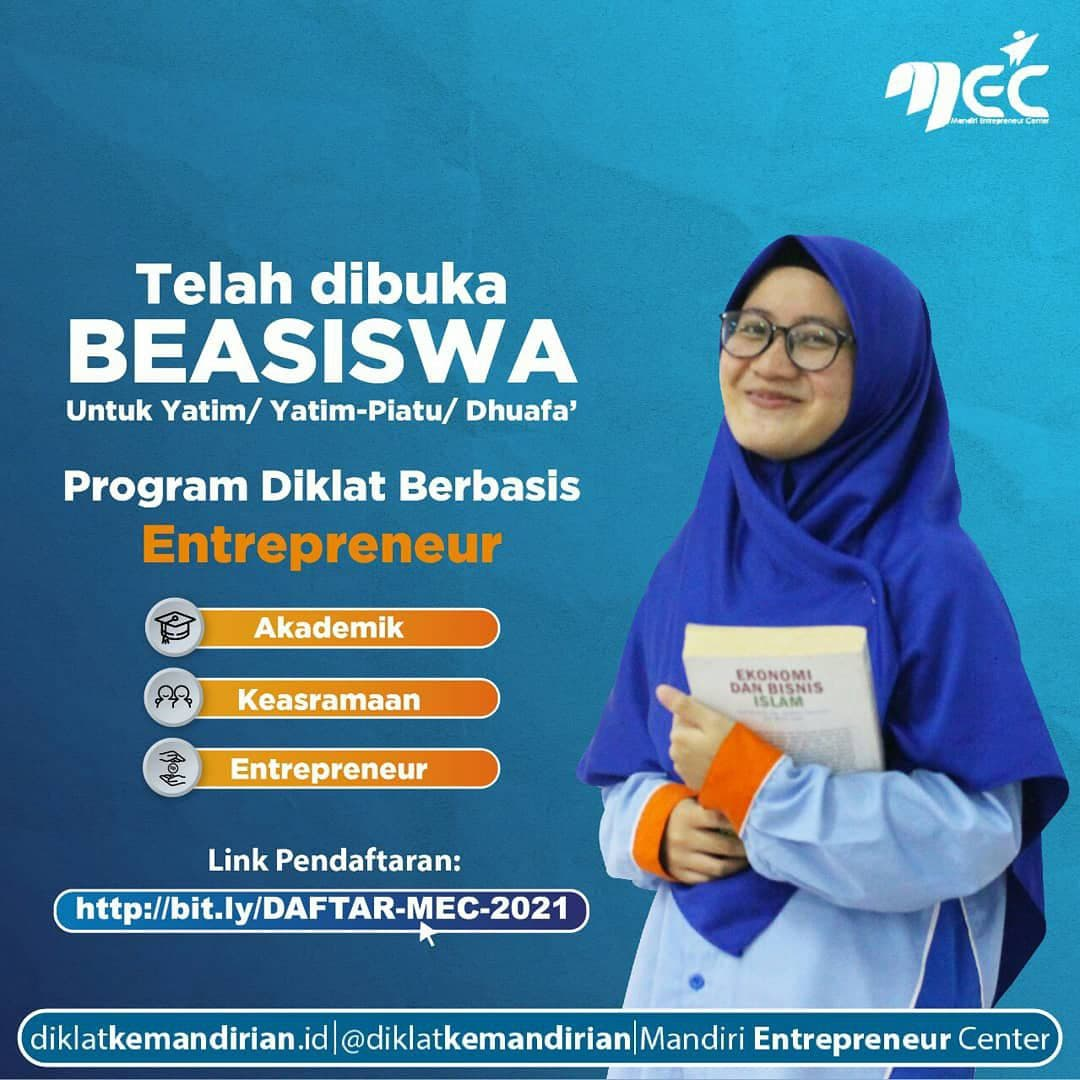 Beasiswa Mandiri Entrepreneur Center