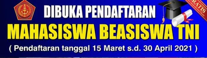 Beasiswa TNI 2021