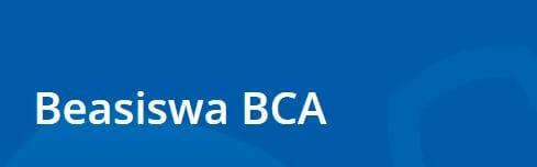 Beasiswa BCA 2021 2022