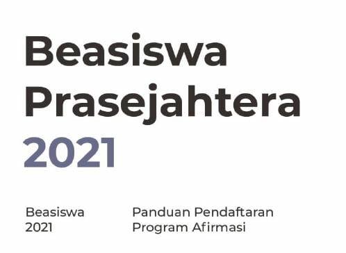 Beasiswa Prasejahtera