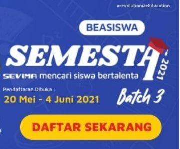 Beasiswa Semesta 2021