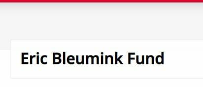 Eric Bleumink Fund