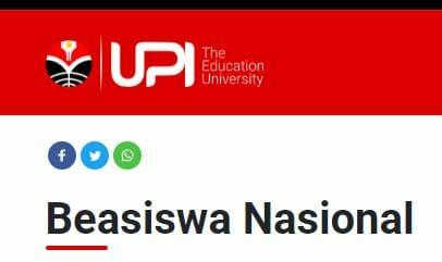 Beasiswa UPI