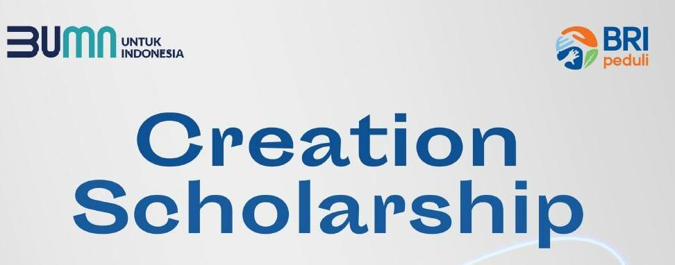 Creation Scholarship