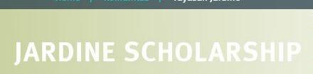 Beasiswa Jardine Scholarship Awards