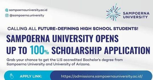 Beasiswa Sampoerna University
