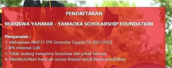 Beasiswa Yanmar