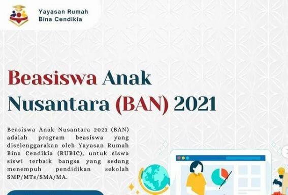 Beasiswa Anak Nusantara
