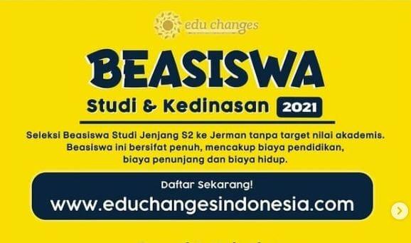 Beasiswa Edu Change Indonesia
